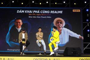 Realme khuấy động giới trẻ Sài Thành với sự kiện ra mắt 8 series hoành tráng