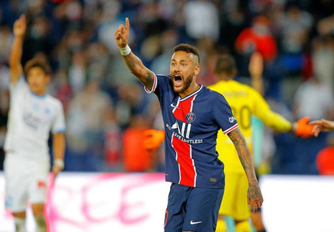 Mưa thẻ đỏ ngày Neymar tái xuất, PSG gục ngã trước Marseille