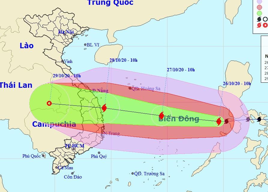Thủ tướng chỉ đạo triển khai ứng phó khẩn cấp bão số 9