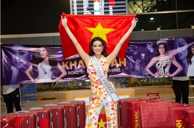 Khánh Vân đã có thể trở về Việt Nam sau 3 tuần mắc kẹt ở Mỹ vì Covid
